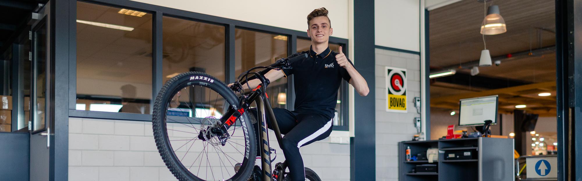 BBL-opleiding van 12GO Biking krijgt vervolg
