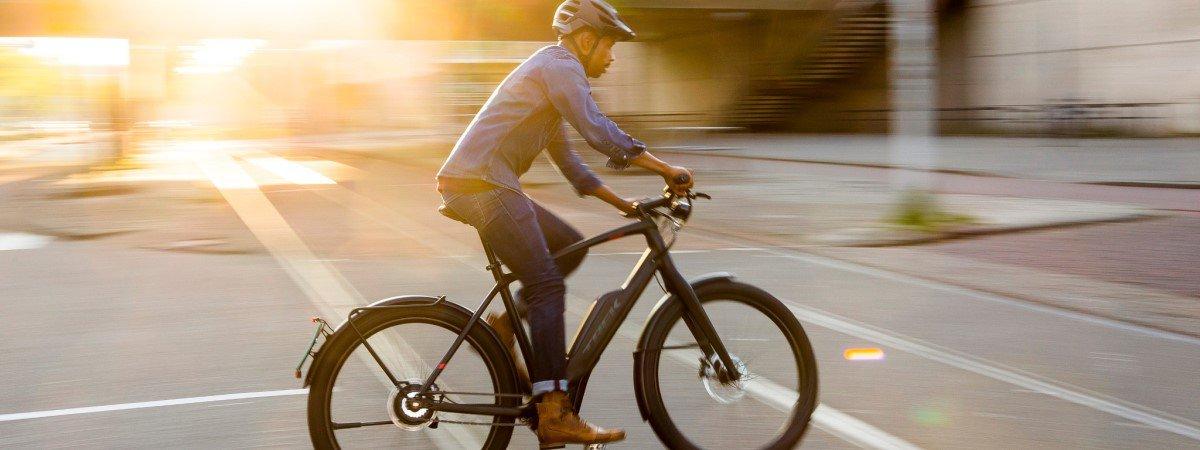 De ideale plek van een motor bij een E-bike