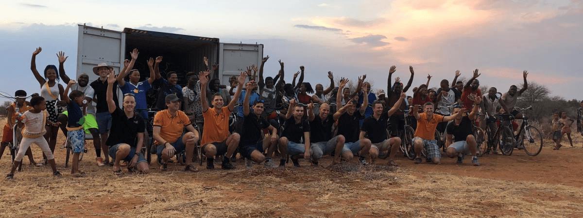 Inruilspektakel: update vanuit Namibië!