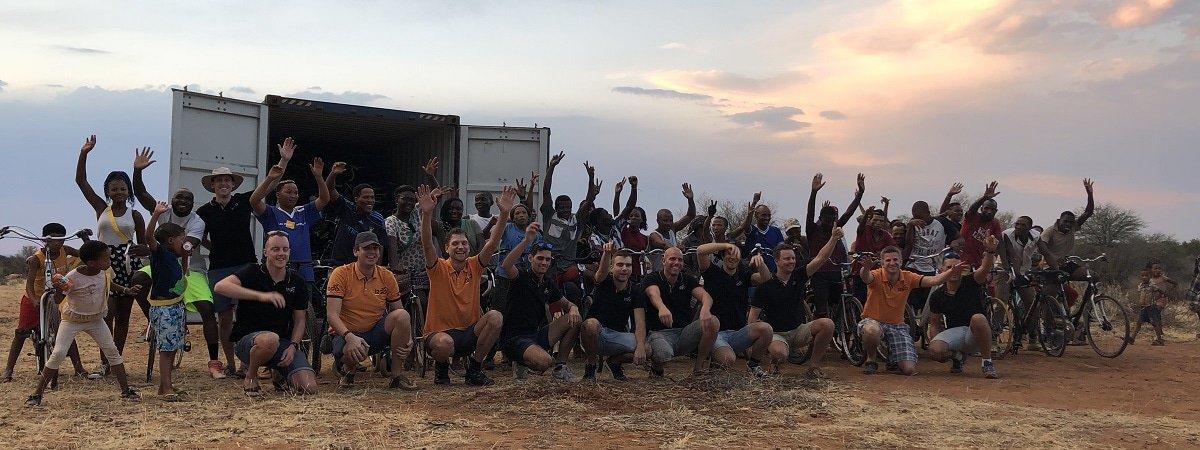 Van het Inruilspektakel naar Bikes 4 Africa