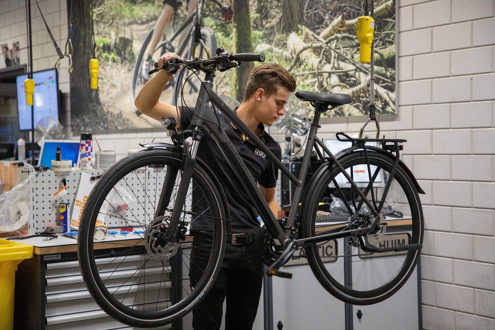 12GO Biking start interne BBL-opleiding tot fietstechnicus