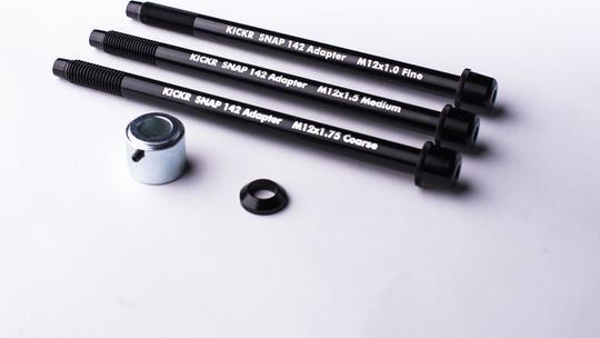 Wahoo Kickr Snap 12 x 142 mm steekas adapterset