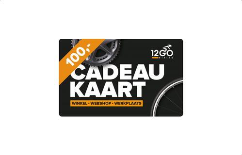 12GO Cadeaukaart 100 euro