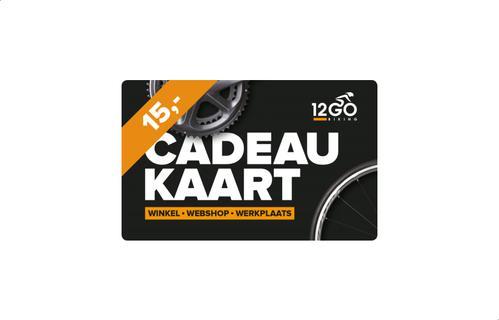 12GO Cadeaukaart 15 euro