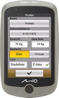 Mio Cyclo Discover Fietsnavigatie