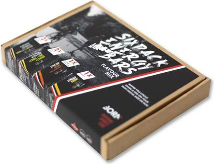Born Energy Bar Flavour Mix 6 stuks