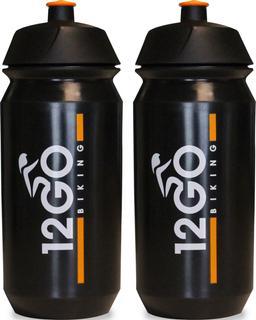 12GO Biking Bidon 500 ml 2 stuks