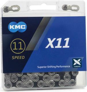 KMC X11 11-speed Ketting Zilver/Zwart