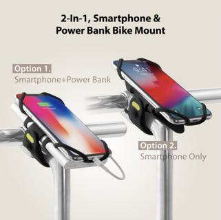 BoneCollection Pro pack smartphonehouder + powerbank houder