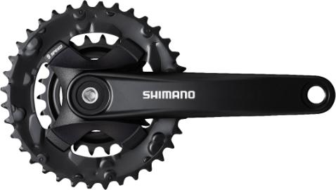 Shimano Altus MT101 9-speed Crankstel