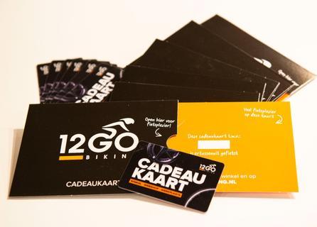 12GO Cadeaukaart 10 euro