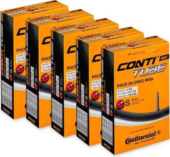 Continental Race Wide 28'' Presta Binnenband 5 stuks