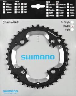 Shimano Deore XT M785 Dubbel Kettingbladen