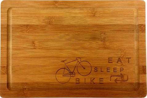 Cyclo Cadeau Eat Sleep Bike Broodplank