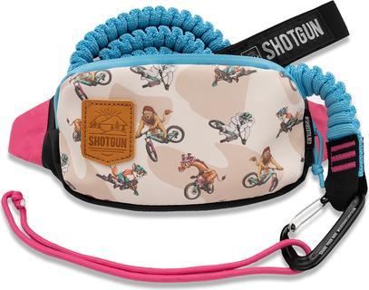 Kids Ride Shotgun Mountainbike Sleeptouw en Heuptas Combo