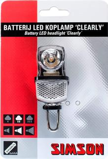 Simson LED Koplamp Clearly 7 Lux