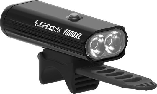 Lezyne Lite Drive 1000XL Front Black