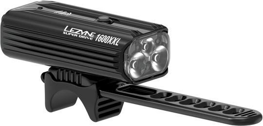 Lezyne Super Drive 1600XXL Front Black