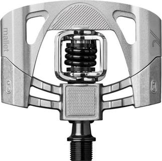 Crank Brothers Mallet 2 Raw Pedalen