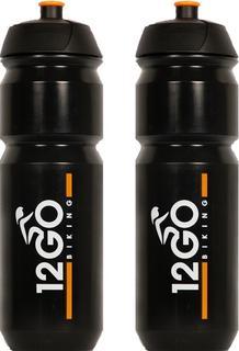 12GO Biking Bidon 750 ml 2 Stuks