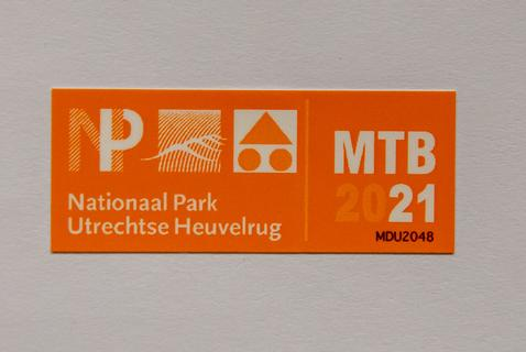 12GO Mountainbike Vignet Utrechtse Heuvelrug 2021