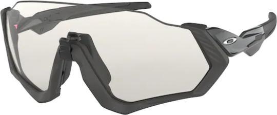 Oakley Flight Jacket Steel / Photochromic Fietsbril