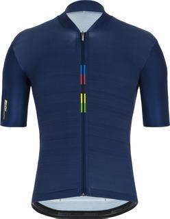 Santini Official Uci Rainbow Short Sleeve Jersey