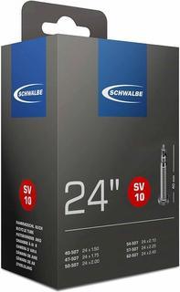 "Schwalbe SV10 24"" binnenband Frans ventiel"