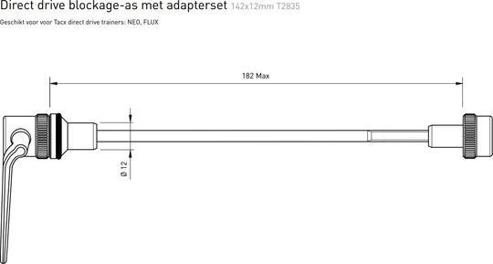Tacx Steekas Adapter Direct Drive