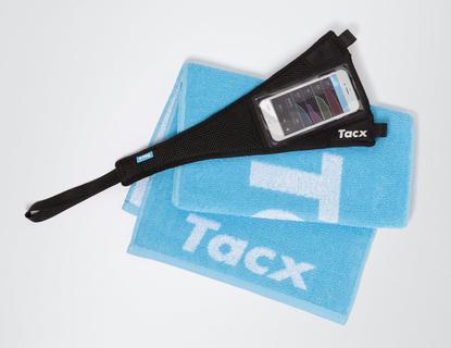 Tacx T2935 Handdoek + Zweetdoek Smartphone Zweetset