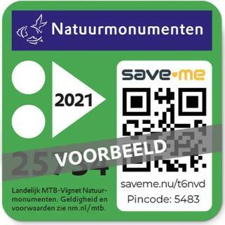 12GO Mountainbike Vignet Natuurmonumenten 2021
