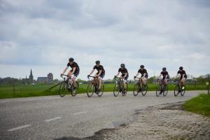 Pedalen voor de racefietsl
