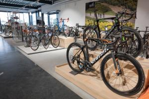 Test deze fietstrainer in de winkel! l