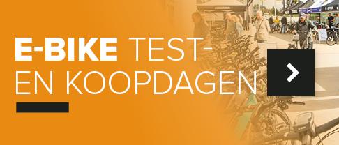 Kom naar de e-bike test -en koopdagen