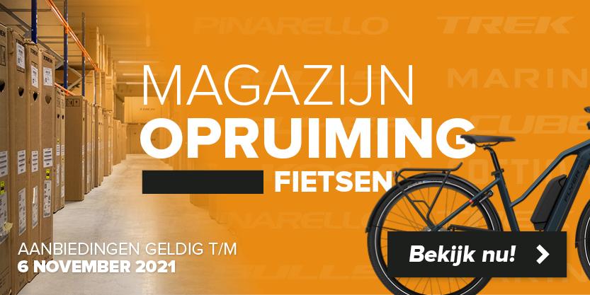Magazijnopruiming fietsen