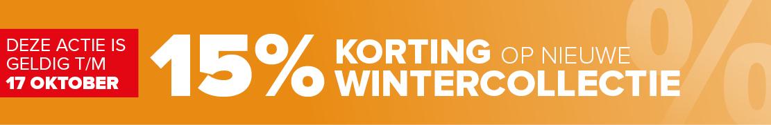 15% korting wintercollectie