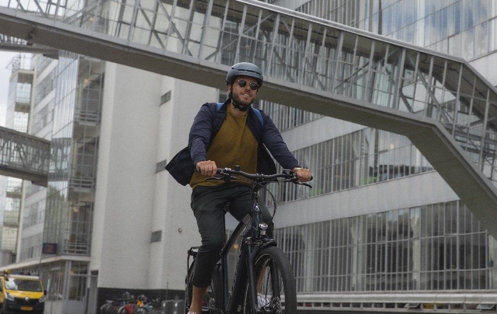 Elektrische fiets sfeerfoto