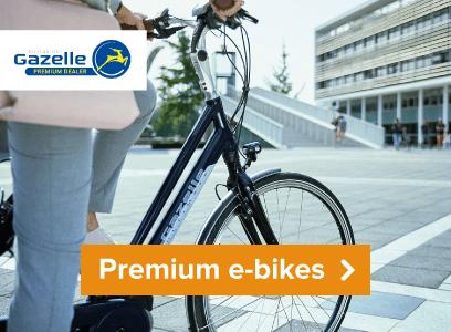 Premium Gazelle E-bikes