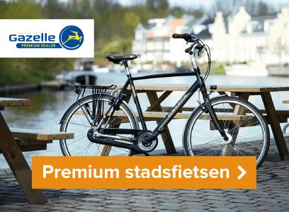 Premium Gazelle stadsfietsen