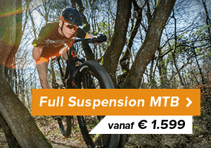 Naar full suspension mountainbikes