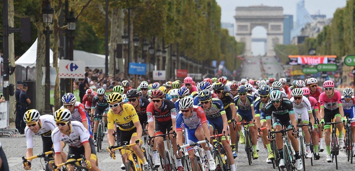 Champs Elysées is één van de hoogtepunt van elk wielerseizoen