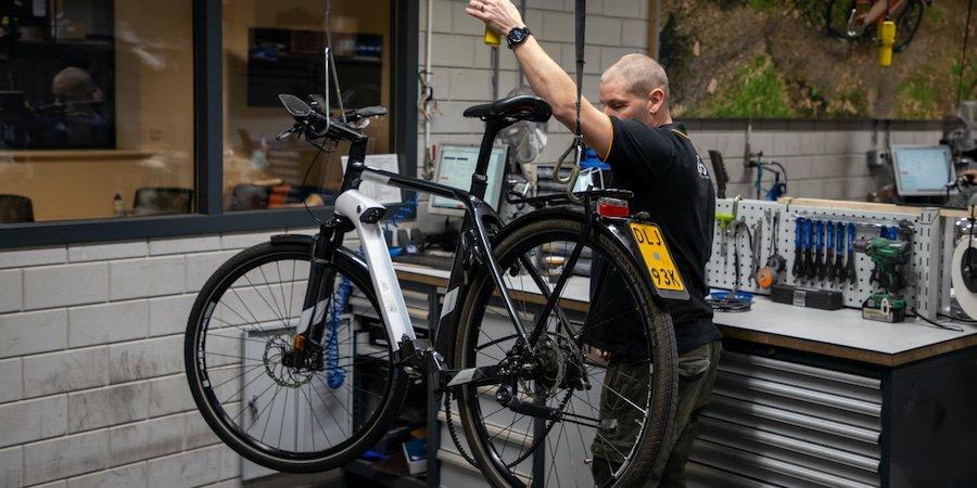 interview met fietstechnicus