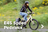 E45 Speed Pedelecs