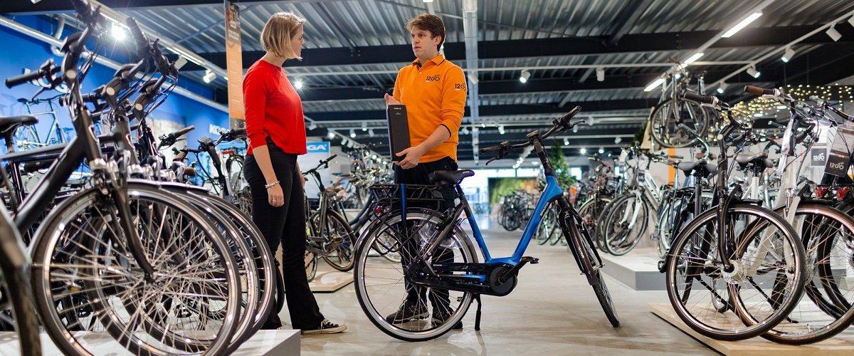 Stockfoto 12GO Verkoop e-bike