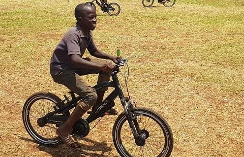 fietsen in afrika