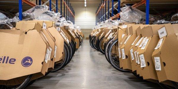 grote voorraad e-bikes