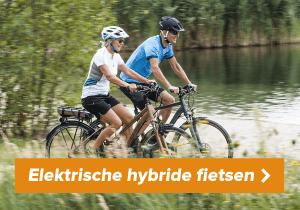 Naar elektrische hybride fietsen
