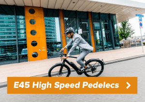 Naar high speed e-bikes