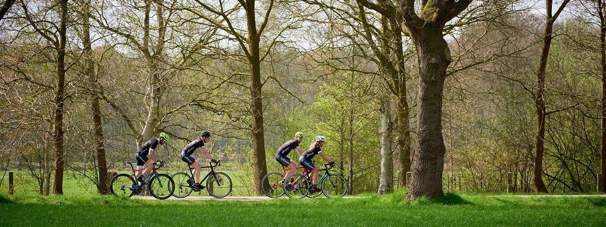 gezellig stukje fietsen