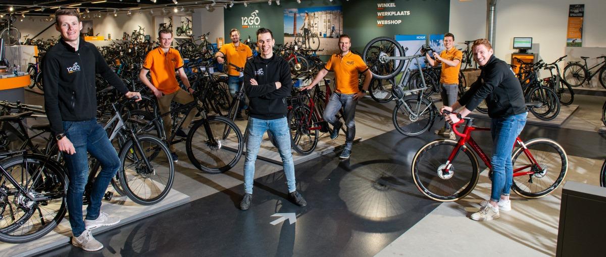 fietsfanaten van 12go biking